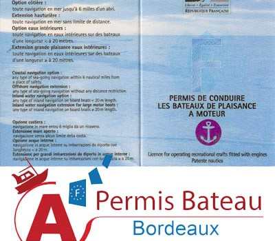 permis bateau bordeaux le site du permis bateau en r gion bordelaise. Black Bedroom Furniture Sets. Home Design Ideas